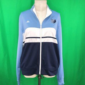 Adidas XXL Memphis Grizzlies On Court Track Jacket